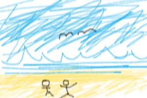 bogus beach scenery by djtheburninator