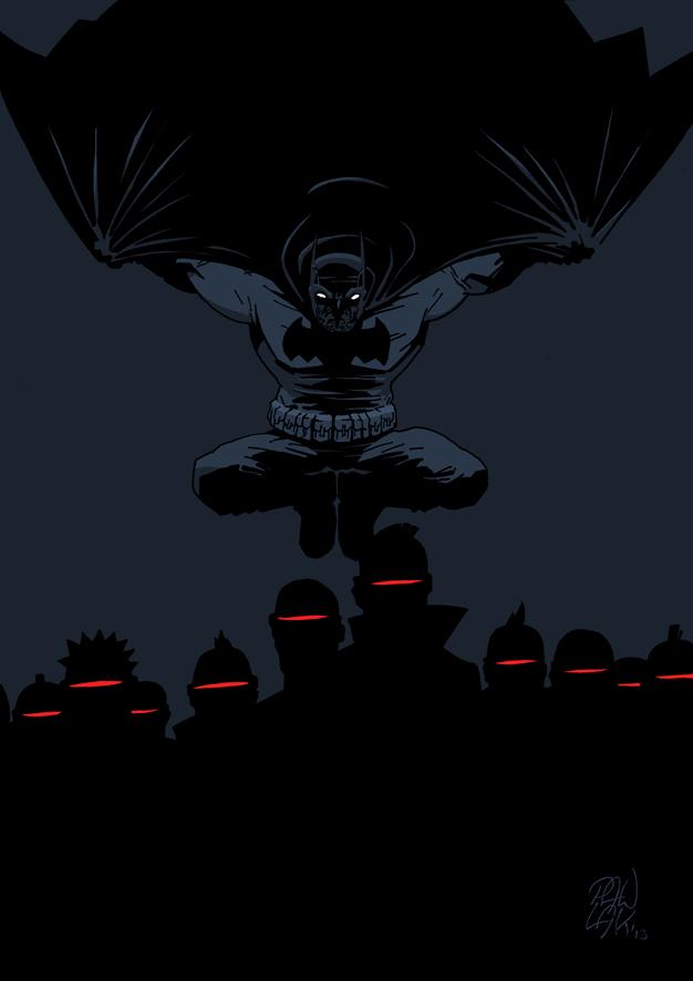 The Dark Knight Returns by GiP7