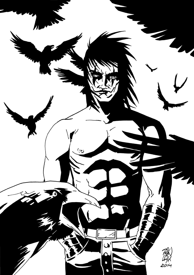 The Crow  - commission by GiP7