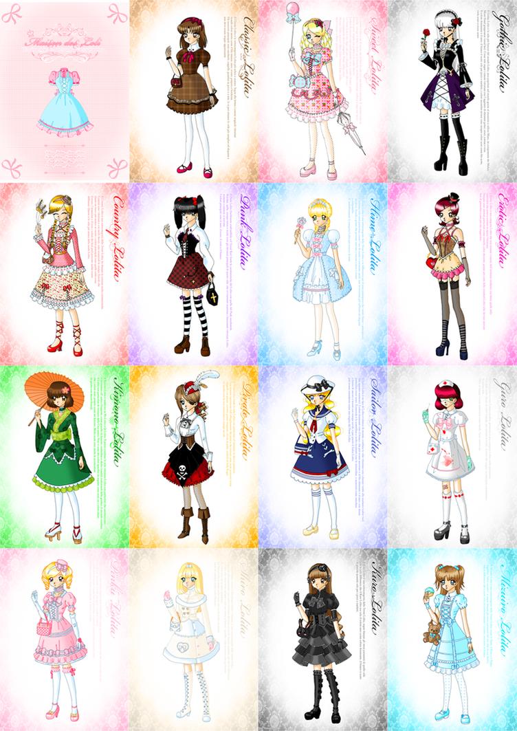 Lolita Styles by Neko-Vi on DeviantArt