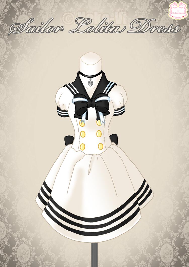 Sailor Lolita Dress by Neko-Vi