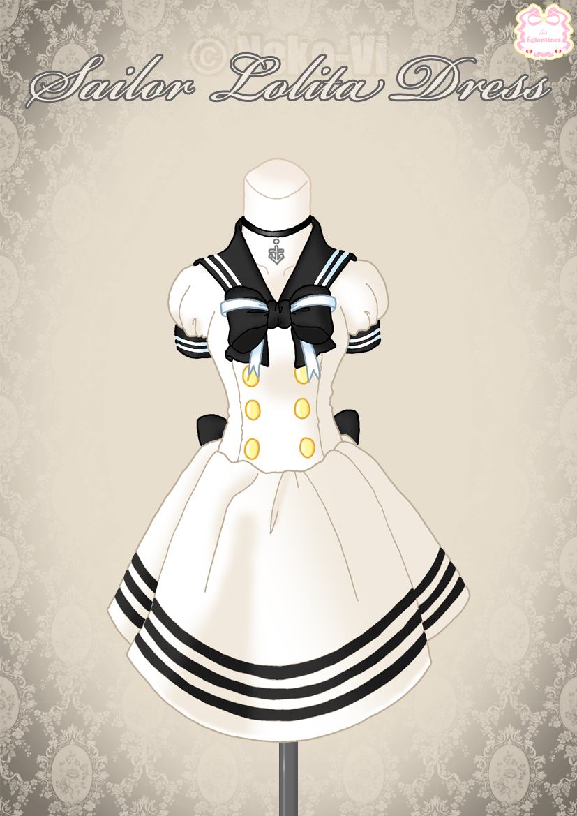 Sailor Lolita Dress by Neko-Vi