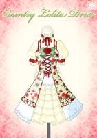 Country Lolita Dress by Neko-Vi
