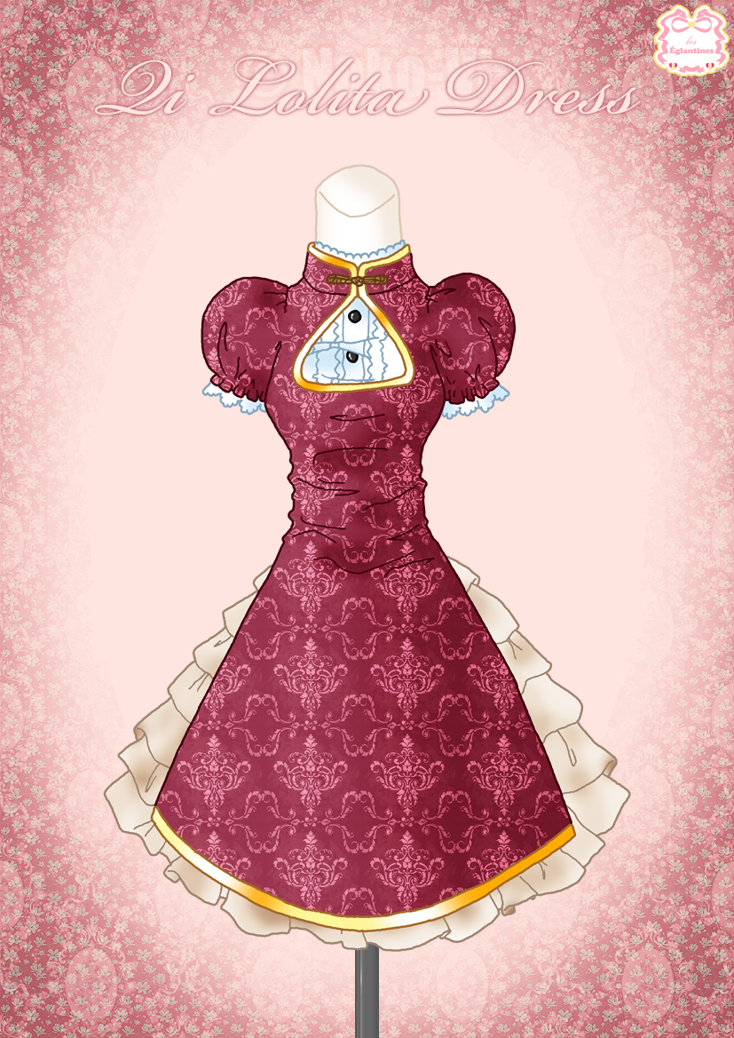 Qi Lolita Dress by Neko-Vi