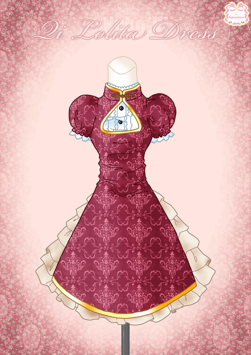 Qi Lolita Dress By Neko Vi On Deviantart