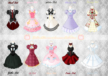 Loli Dresses Summer Collection by Neko-Vi