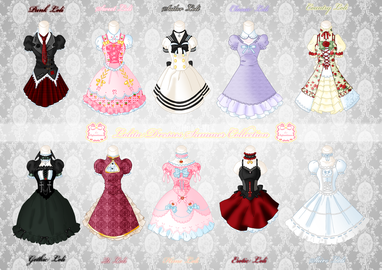 Loli Dresses Summer Collection by Neko-Vi