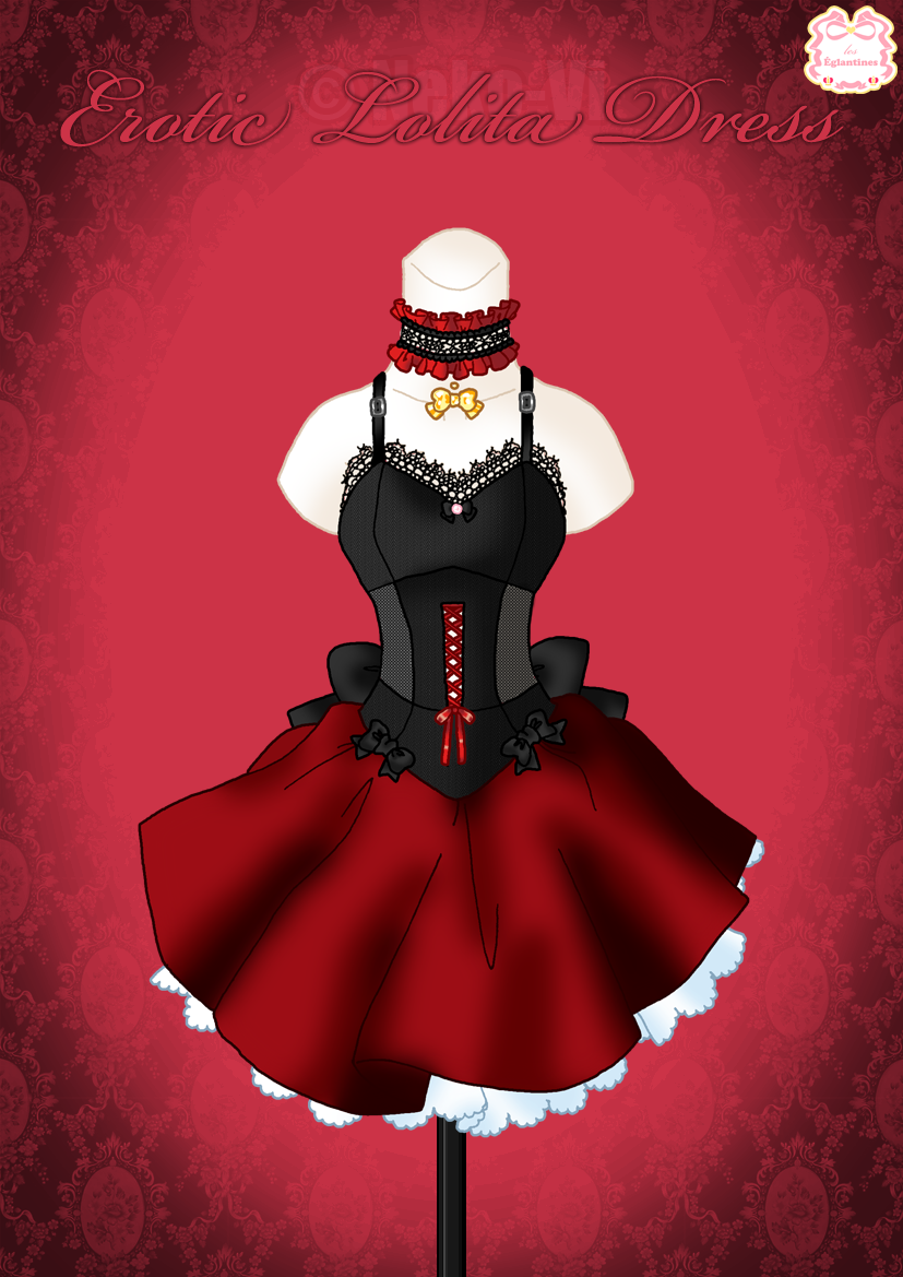 Erotic Lolita Dress by Neko-Vi