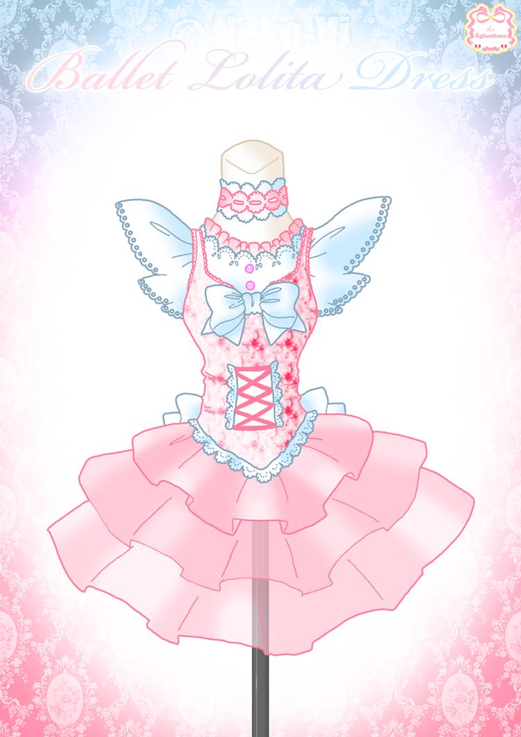 Ballet Lolita Dress by Neko-Vi