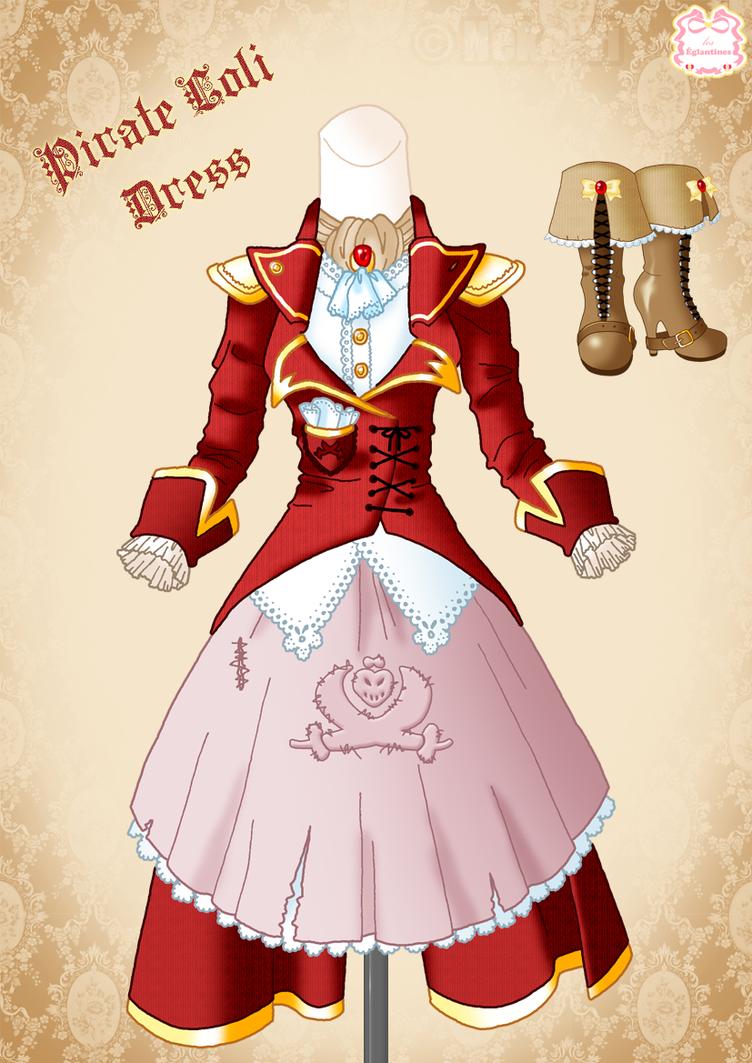Corsair-Pirate Loli Dress by Neko-Vi