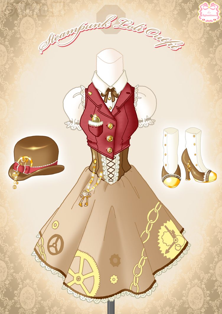 Steampunk Loli Outfit by Neko-Vi