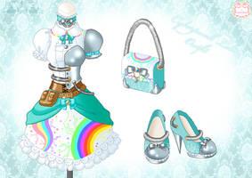 Cyberpunk Loli Outfit by Neko-Vi