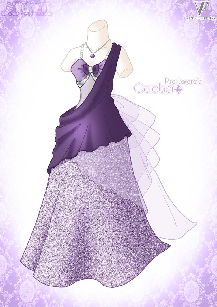 Pure Lavender - October by Neko-Vi