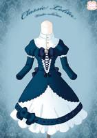 Classic Lolita Winter Dress by Neko-Vi