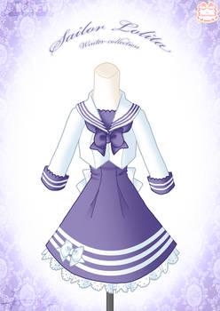 Sailor Lolita Winter Dress