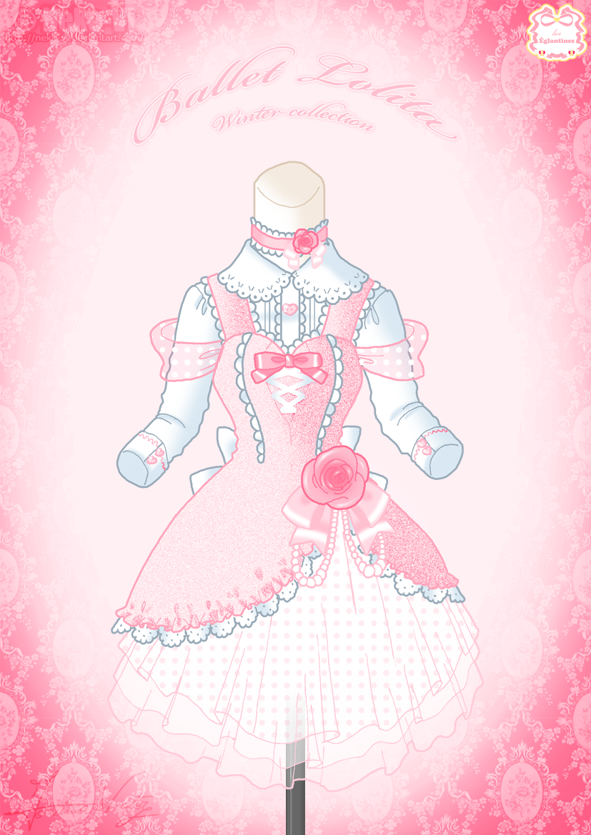 Ballet Lolita Winter Dress By Neko Vi On Deviantart