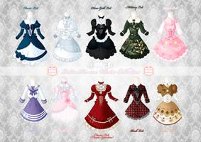 Loli Dresses Winter Collection by Neko-Vi