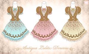 Antique Lolita Dresses