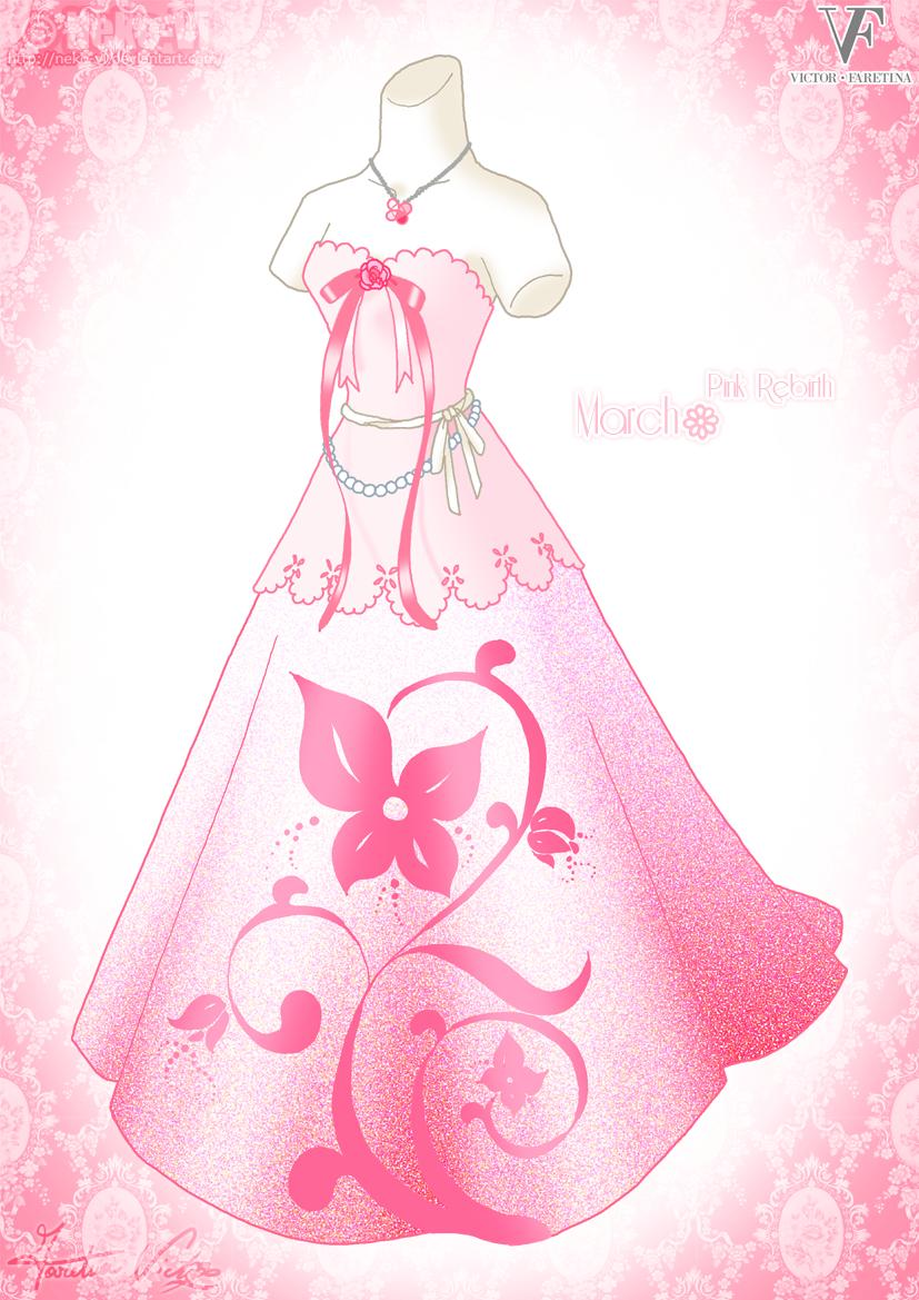 Pink Rebirth - March by Neko-Vi