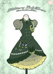 Military Loli Dress by Neko-Vi