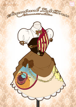 Steampunk Loli Dress by Neko-Vi