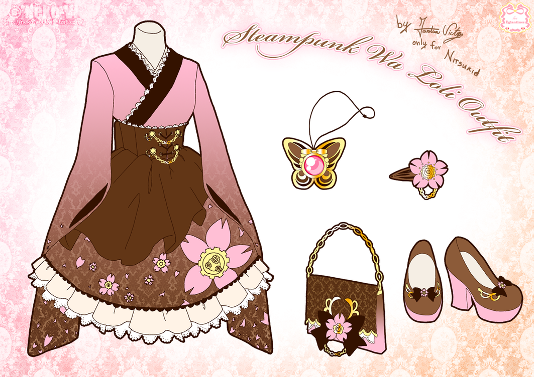 Steampunk Wa Loli Outfit by Neko-Vi on DeviantArt