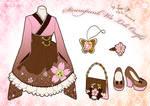 Steampunk Wa Loli Outfit