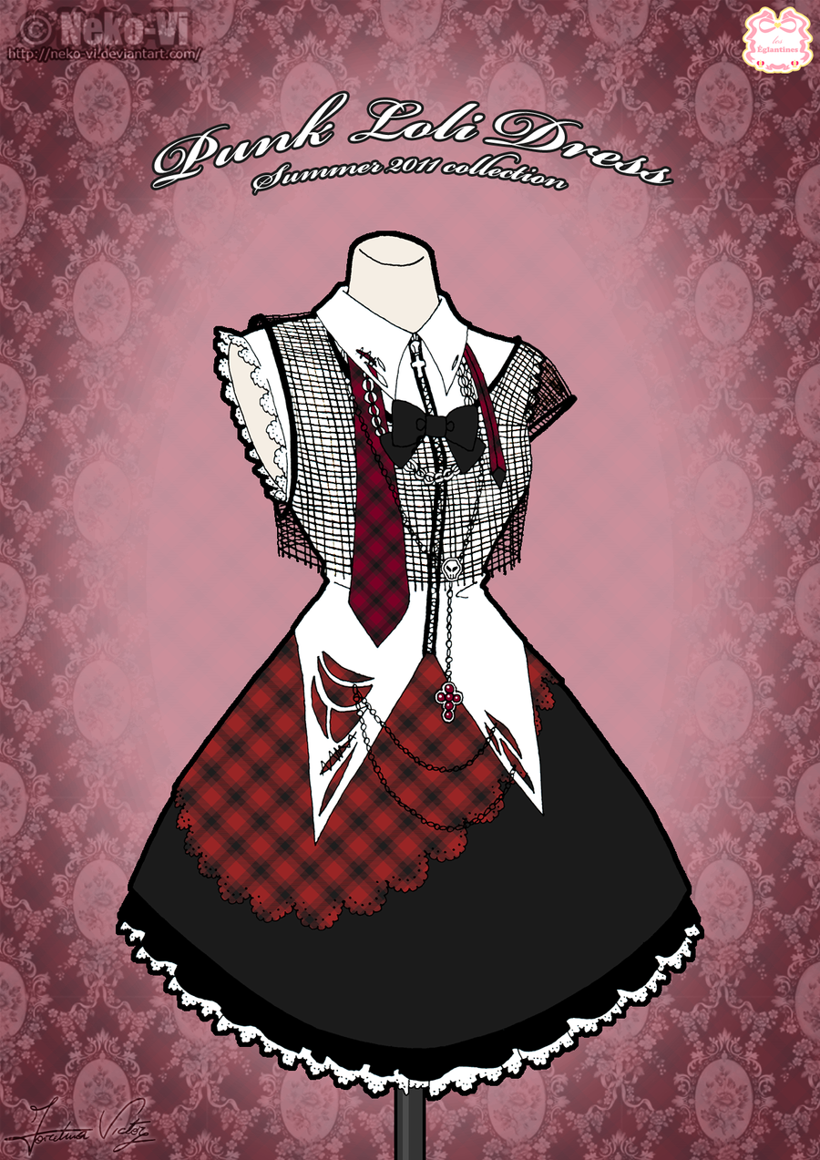 Punk Loli Dress by Neko-Vi
