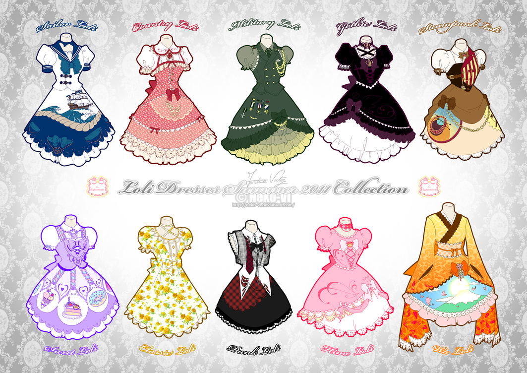 Lolita Summer 2011 Collection by Neko-Vi
