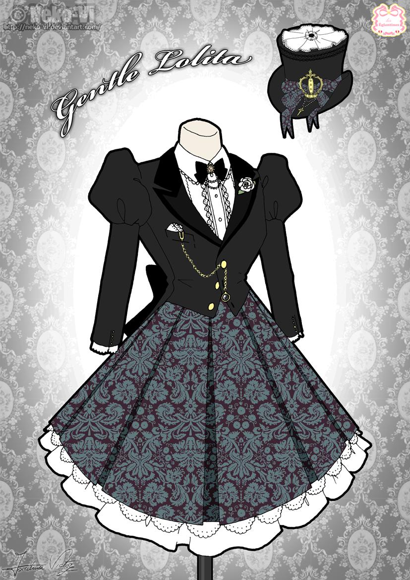 Gentle Lolita by Neko-Vi
