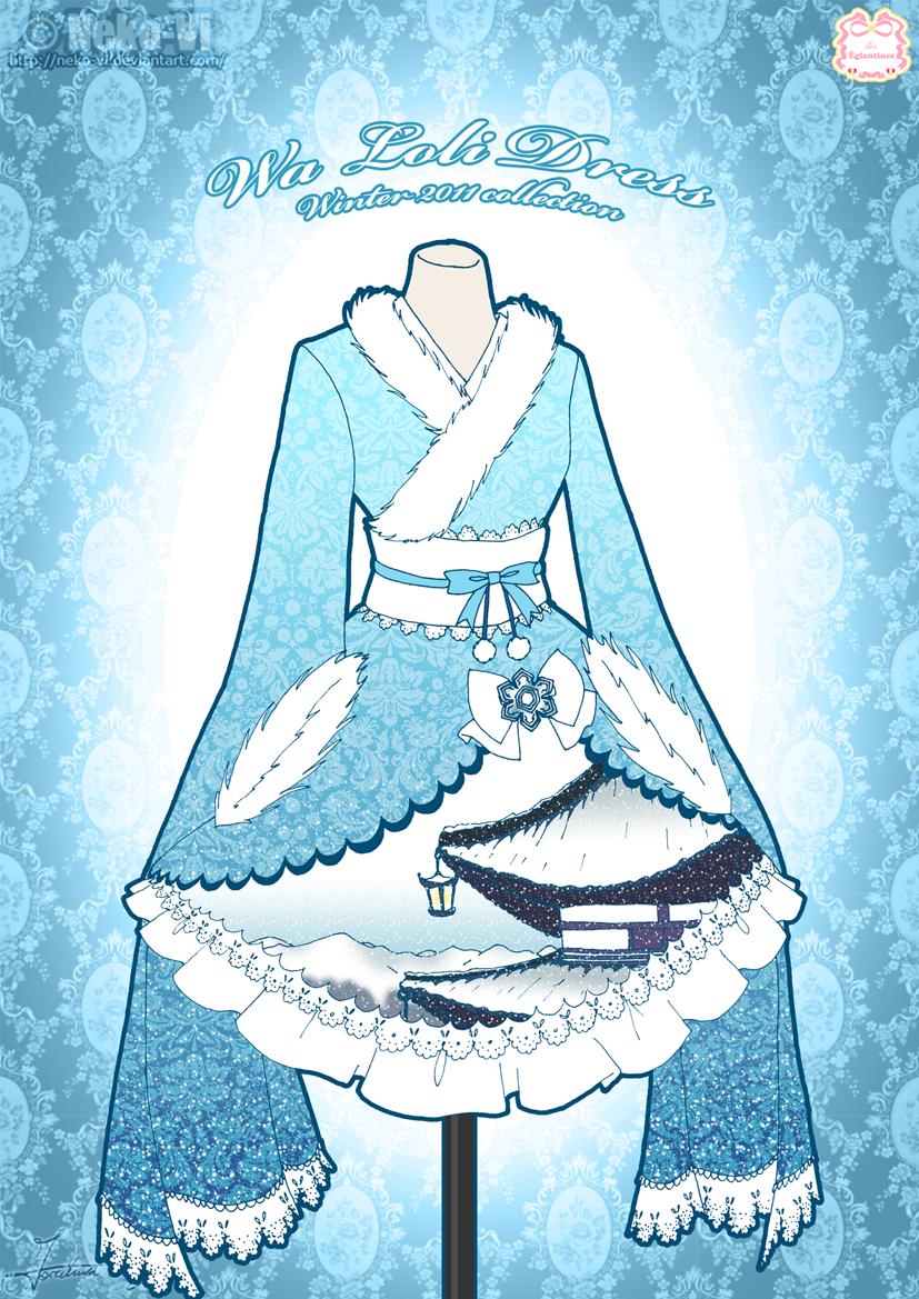 Wa Lolita - Page 2 Wa_loli_winter_dress_by_neko_vi-d4ijd6t
