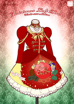 Christmas Loli Winter Dress