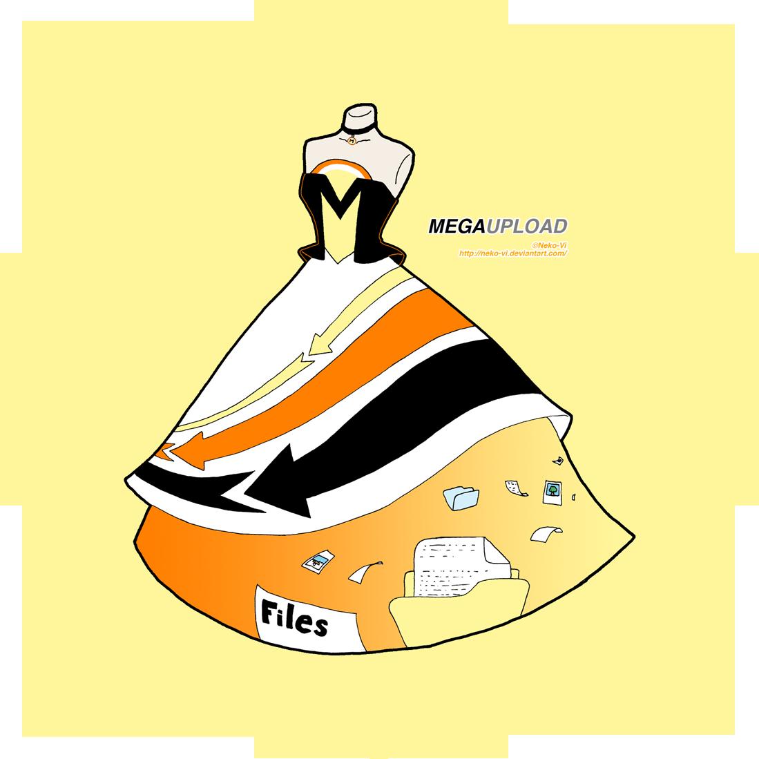 Megaupload in Fashion by Neko-Vi