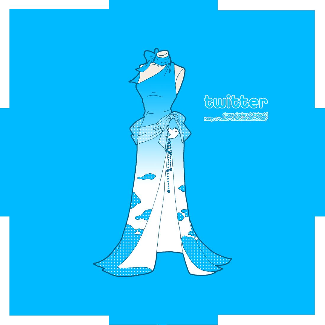 Twitter in Fashion by Neko-Vi