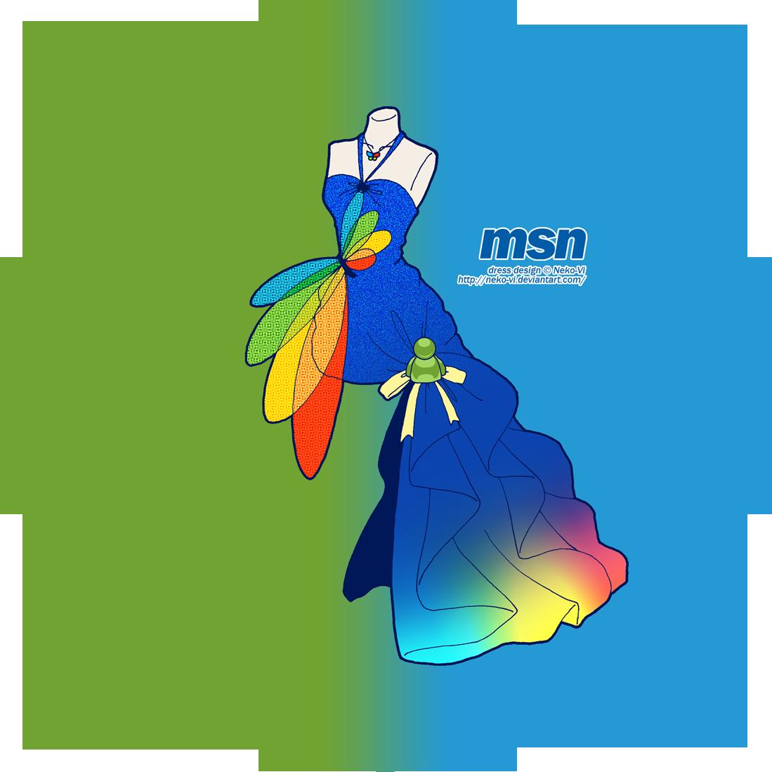 MSN in Fashion by Neko-Vi