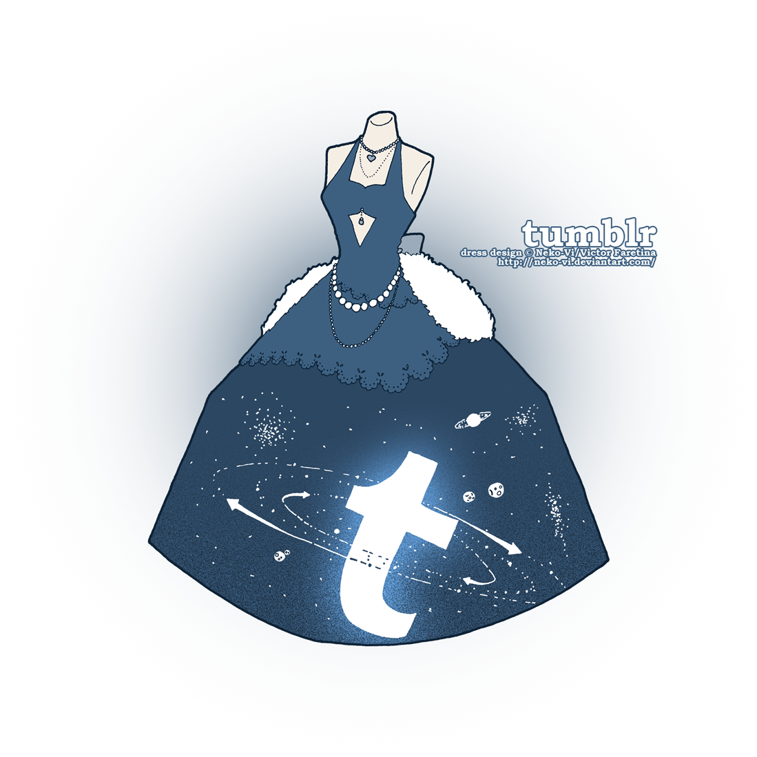 Tumblr in Fashion by Neko-Vi