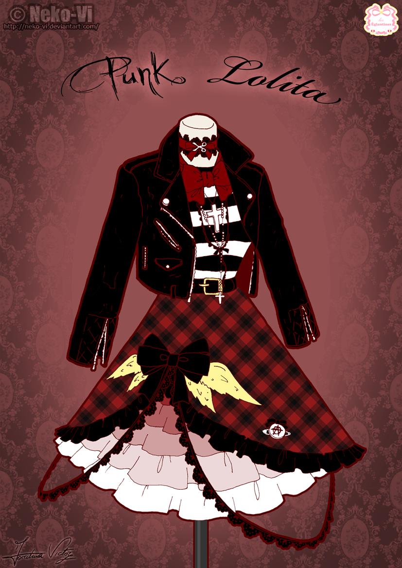 Punk Lolita by Neko-Vi
