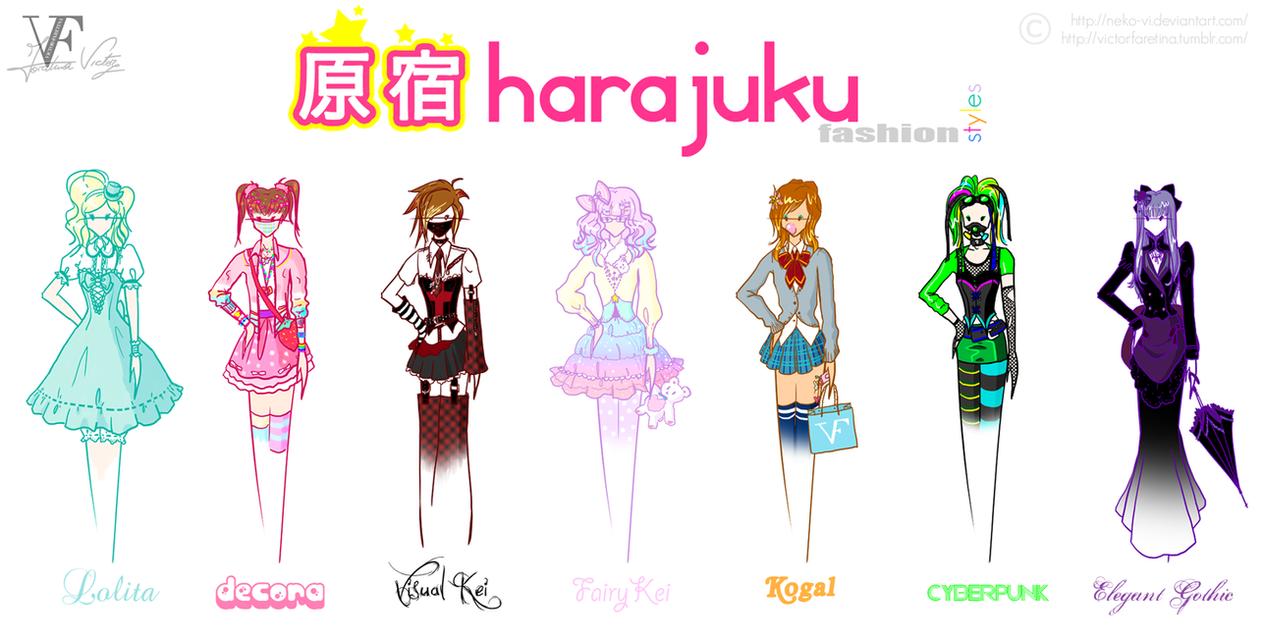 Harajuku Fashion Styles By Neko Vi On Deviantart