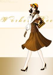 Worker Bee by Neko-Vi