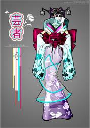 Geisha Haute Couture by Neko-Vi