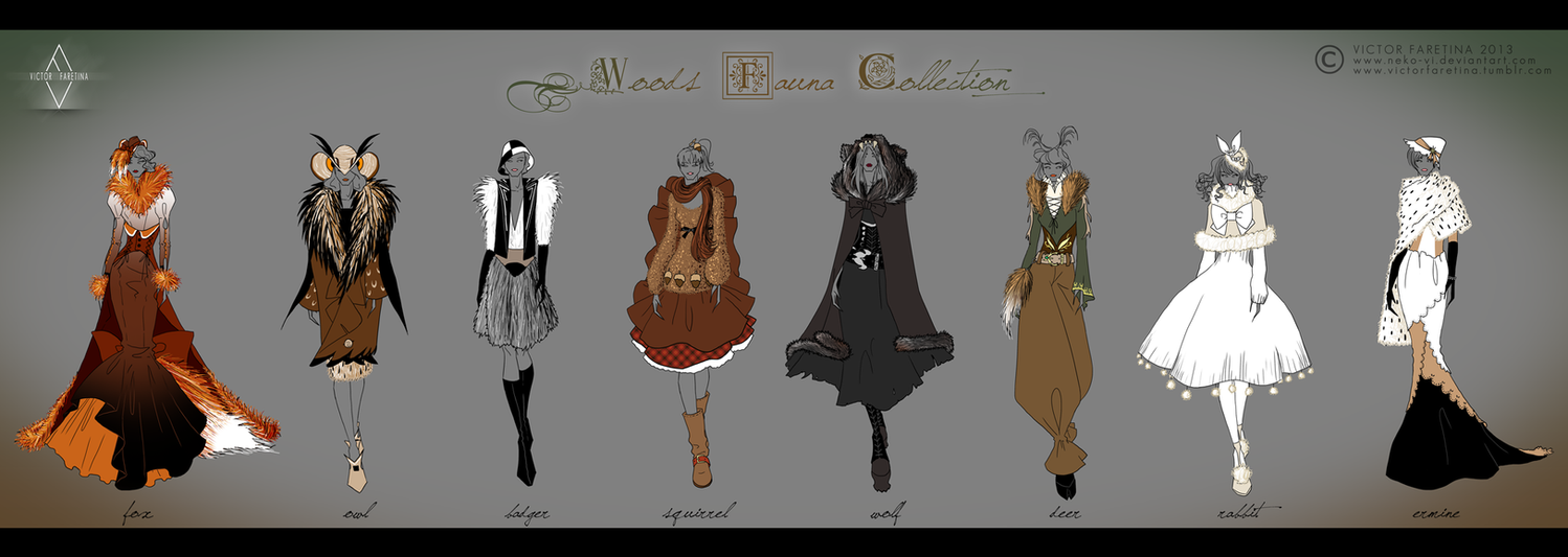 Woods Fauna Collection by Neko-Vi