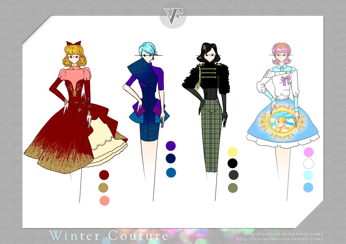 Winter Couture by Neko-Vi