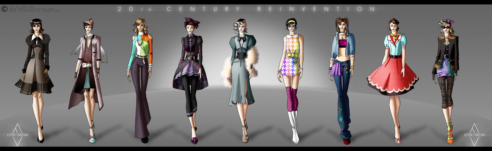 20th Century Reinvention by Neko-Vi
