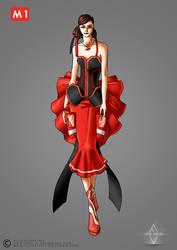 Subway Fashion: Red Line by Neko-Vi