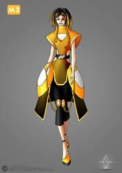 Subway Fashion: Yellow Line by Neko-Vi