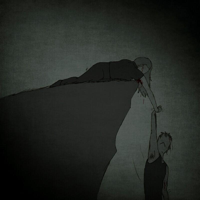 ''I Will Hold On'' by BlackSpiralDancer1