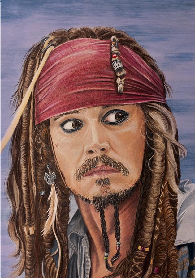 Jack Sparrow by Sarahharas07