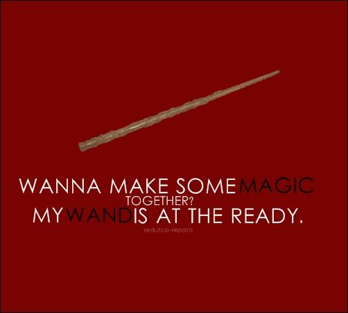Harry Potter Pick Line Athenadeniise