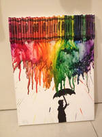 Crayon Art 1 by athenadeniise