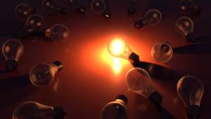 Bulb Sparkle by Insane--Monster